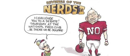 Revenge Of The Nerds By Matt Golding Via Smh