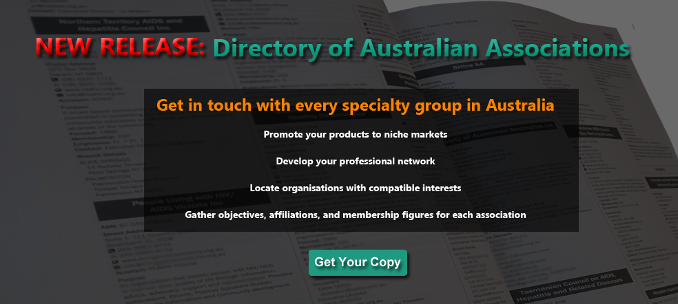 New Release: Directory of Australian Associations