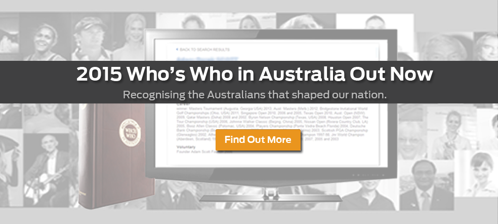 Who's Who in Australia's 51st Edition Available Now!